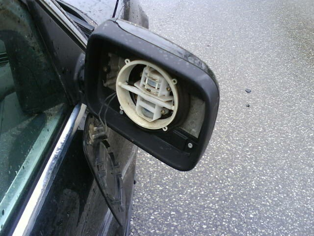 Passenger Side Mirror Gone Bye-Bye